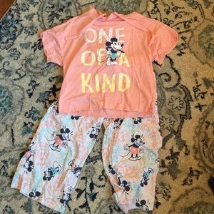 Mickey pajamas- woman's